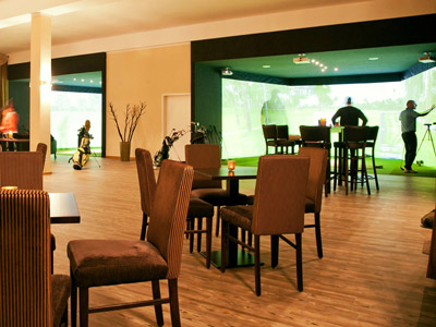 Indoor Golf Lounge